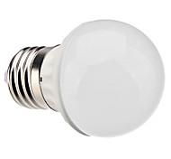 3W E26/E27 Ampoules Globe LED G45 LED Haute Puissance 260 lm Blanc Naturel AC 100-240 V