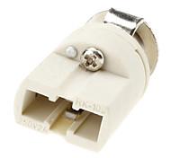 G9 Base de lâmpada soquete de cerâmica suporte da lâmpada