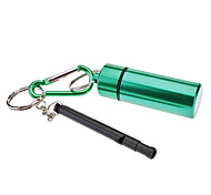 Aluminum Alloy Medicine Bottle with A Long Whistle And Hook(Assorted Colors)
