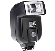 YinYan CY-20 Pequeno Mini sapata de flash com PC Sync Porto para Canon DC NIKON DSLR