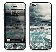 """Codice Da ™ Pelle per iPhone 4/4S: """"Ocean Furious"""" (Nature Series)"""