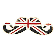 Vintage Style Smart Mustache Pattern Opening Ring(Assorted Colors)