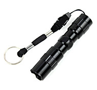 LED Flashlights/Torch LED 1 Mode Lumens Waterproof / Small Size LED Other Black / Blue / Red Aluminum alloy