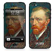 """Código Da Pele ™ para iPhone 4/4S: """"Auto-retrato"""", de Vincent van Gogh (Masterpieces Series)"""