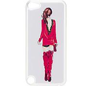 Indietro di Bella Donna modello Custodia rigida con strass per iPod Touch 5