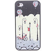 Straßenlaterne Pattern Hard Case für iPhone 4/4S