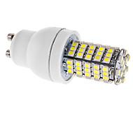 GU10 5W 102 SMD 3528 290 LM Natural White T LED Corn Lights AC 220-240 V