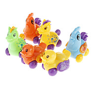 Mini Animal Pull and Back Toys Set (6-Pack)