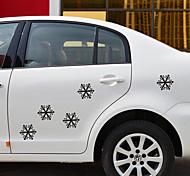 Lovely Snowflake Pattern Car Decorative Sticker