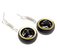 Dome Type Plastic Mini Couple Piezo Electric Tweeters for Cars