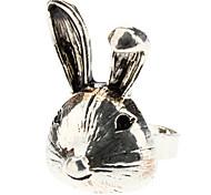 The Silver Rascal Rabbit Metal Ring