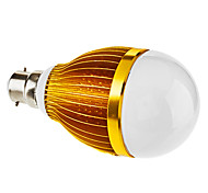 12 W 12 High Power LED 600-630 LM Natural White Dimmable Globe Bulbs V
