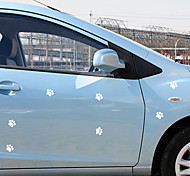 Dog Paw Pattern Car Decorative Sticker