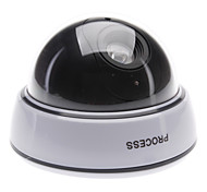 Dummy Security Camera  With Flashing Red Light