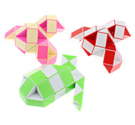 48-Sections DIY Snake Shaped Magic Cube (Random Color)