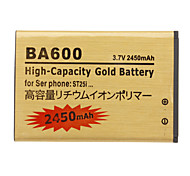 OME Cell Phone Battery BA600 for Sony Ericsson ST25i(3.7V, 245mAh)