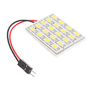 T10/BA9S/Festoon 4.5W 20x5730SMD Natural White Light LED Bulb for Car Reading Lamp (12V)