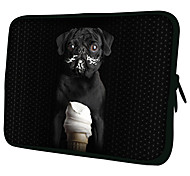"""Ice Cream Dog""Pattern Nylon Material Waterproof Sleeve Case for 11""/13""/15"" Laptop&Tablet"