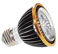 5W E26/E27 LED Spotlight MR16 5 High Power LED 350 lm Warm White Dimmable AC 220-240 V