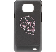 Purple Skull Pattern Hard Case for Samsung Galaxy S2 I9100