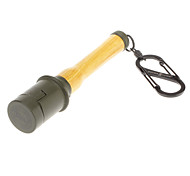 "3.8"" Yellow Flashlight Shaped Oil Lighter"