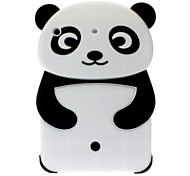 3D Panda Style Silica Gel Material Soft Case for iPad mini 3, iPad mini 2, iPad mini
