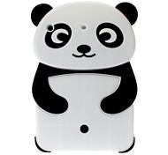 Panda 3D-Stil Kieselgelmaterial weiche Tasche für iPad mini 3, iPad mini 2, iPad mini