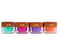 1PCS Gel UV colore all'interno Paillettes Mini Nail Polish No.31-35 (colori assortiti, 8ML)