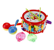 Cartoon Beach Drum Music Set Toy