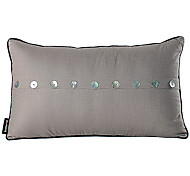 Modern Conch Button Linen Decorative Pillow cover