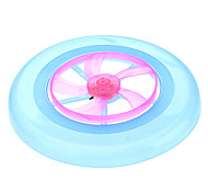 7 Colors Flashy UFO Frisbee Toy (Random Color)