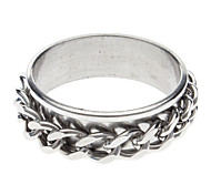 Double Chain Stainless Steel Ring