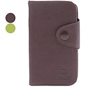Microgroove Grain PU Leather Case for Sony Xperia E Dual C1605 (Assorted Colors)