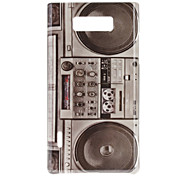 Retro Style Radio Pattern Hard Case for LG Optimus L7 P705