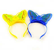 Light-up Butterfly Hair Clasp Concert Props(Random Color)