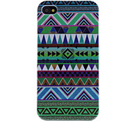 Green Tones Various Shaped Triangles Hard Case for iPhone 4/4S