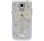 For Samsung Galaxy Case Rhinestone / Pattern Case Back Cover Case Cartoon PC Samsung S4 Mini