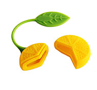 Lemon Design Tea Herb Filter Infuser Strainer Teabag (Random Color)
