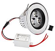 Dimmable 3W 1-210LM 3000-3500K Warm White Light LED Ceiling Bulb (220V)
