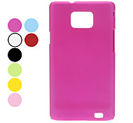 Custodia rigida polacco Dull per Samsung Galaxy S2 I9100 (colori assortiti)