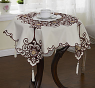 Lazer Cut Floral Table Cloths