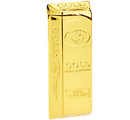 Little Gold Cuboid Gas Lighter