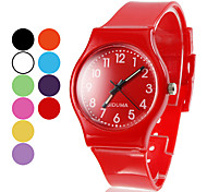 Unisex Silicone Quartz Analog Wrist Watch (Assorted Colors) Cool Watches Unique Watches Fashion Watch Strap Watch