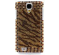 Strass verziert Tiger Stripe Hard Case für Samsung Galaxy i9500 S4