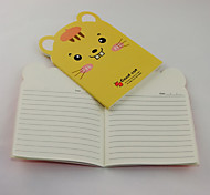 Cute Animal Pattern Notebook(Random Colors)