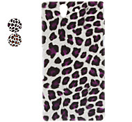 Leopard Print PC Hard Case for Sony L36h Xperia Z (Assorted Colors)