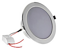 Dimmable 18W 1620LM 3000-3500K Warm White Light Silver Shell Lâmpada LED de teto (220V)