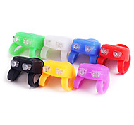 Bike Light , Front Bike Light - 1 Mode Lumens Cell Batteries Battery Cycling/Bike Black / Red / White / Green / Blue / Yellow / Purple