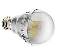 E26/E27 2.5 W 48 Dip LED 230 LM Warm White A60 Sound-Activated Globe Bulbs AC 220-240 V