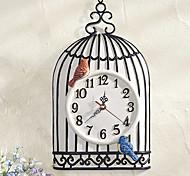 Modern Style Birdcage Wall Clock
